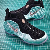 Nike Air Foamposite Pro Island Green 624041-303 Sport Basketball Shoes - Best Online Sale