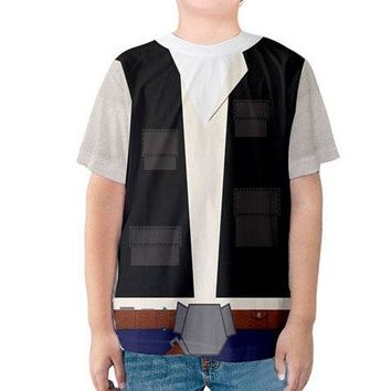 Kid's Han Solo Star Wars Inspired Shirt