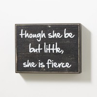 She Is Fierce Box Wall Art | Canvases & Wood | rue21