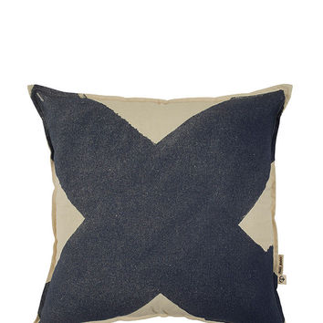 X Pillow Cover - Diesel