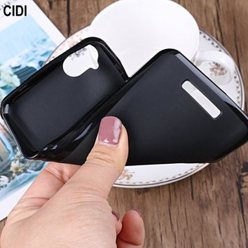 CIDI For BQ BQ-5037 Strike Power 4G Case Silicone Cover Soft TPU Matte Pudding Gel Mobile Phone Bag Shell For BQ 5037