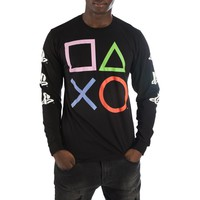 PlayStation Buttons Long Sleeve Shirt