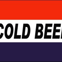 Cold Beer Polyester Flag Banner Sign