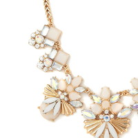 Faux Gem Statement Necklace | Forever 21 - 1000220994