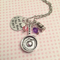 And At Last I See The Light Necklace - Fairytale Jewelry - Once Upon A Time Jewelry - Princess Jewelry -Rapunzel Jewelry