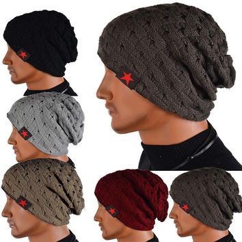 Baggie Reversible Knitted Beanie