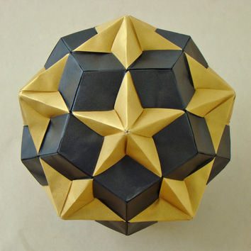 Origami Diagrams - Compound of Dodecahedron and Great Dodecahedron
