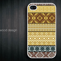 unique  iphone 4 case iphone 4s case iphone 4 cover unique case classic yellow style pattern design printing