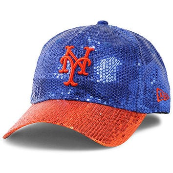 New York Mets Women's Victoria's Secret PINK® Bling 9FORTY Adjustable Cap by New Era - MLB.com Shop