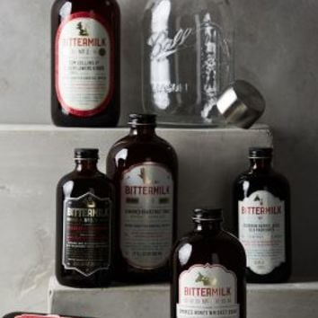Bittermilk Cocktail Mixing Set in Cocoa Size: One Size Kitchen