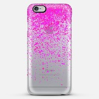 Pink Rain iPhone 6 Plus case by Marianna Tankelevich | Casetify