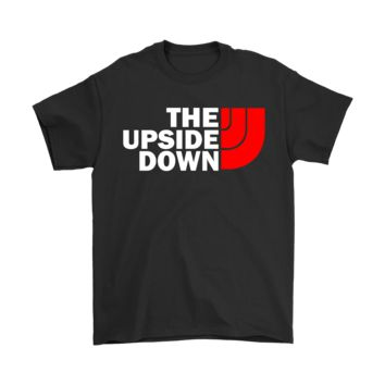 Mashup The North Face The Upside Down Stranger Things Shirts