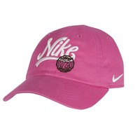 Nike Retro Snap-Back Twill Baseball Cap - Baby, Size: 12-24MONTH (Pink)