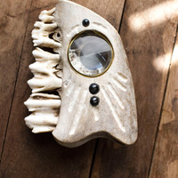 One of a Kind Jawbone Planchette