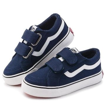 Brand Canvas Children Shoes Sport Breathable Boys Sneakers Brand Kids Shoes for Girls Jeans Denim Casual Child Flat Boots