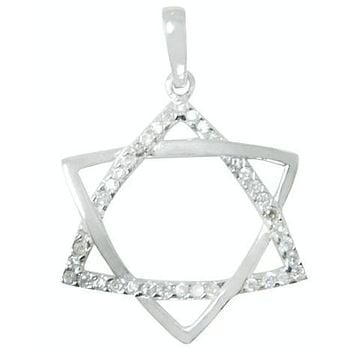 Diamond Star Pendant & Necklace