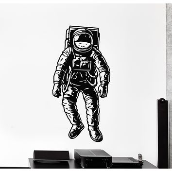 Vinyl Wall Decal Space Cosmonaut Suit Astronaut Stickers Mural (g820)
