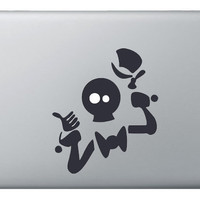 Haunted Mansion Hitchiker Sticker Decal for Apple by Bar8Designs