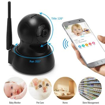 ACALI 720P Wireless IP Network Home Security Camera Two-Way Audio / Memory Card
