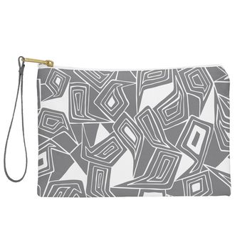 Heather Dutton Fragmented Grey Pouch