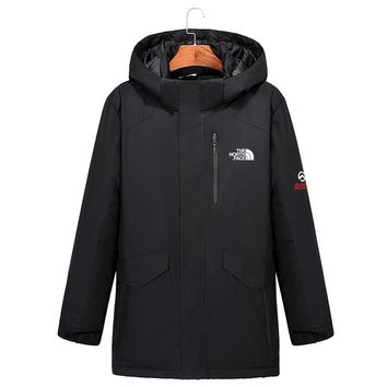 The North Face MEN outdoor Long Down jacket
