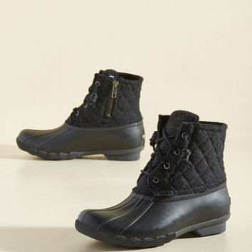 Fine Weather for Luxe Boot in Black | Mod Retro Vintage Boots | ModCloth.com