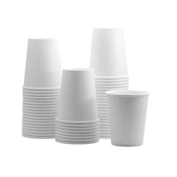 White Paper Hot Cups, Coffee Cups, Tea Cups