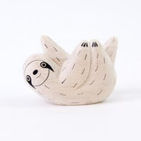 T-Lab POLÉPOLÉ Handcarved Wood Sloth