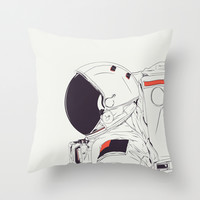GOD IS AN ASTRONAUT Throw Pillow by CranioDsgn