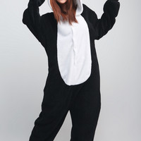 Panda Animal Adult Kigurumi Onesuit 熊猫