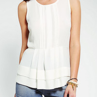 Urban Outfitters - Pins And Needles Pleated Tiered Tank Top