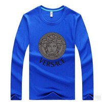 VERSACE  Casual Long Sleeve Top Sweater Pullover