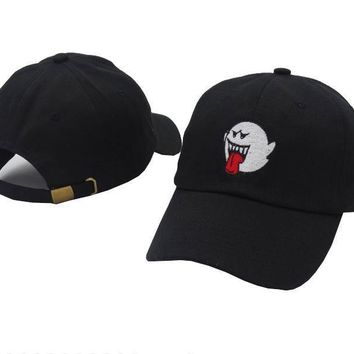 Boo Ghost Dad Hat