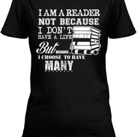 Limited-Edition I Am A Reader Tees!