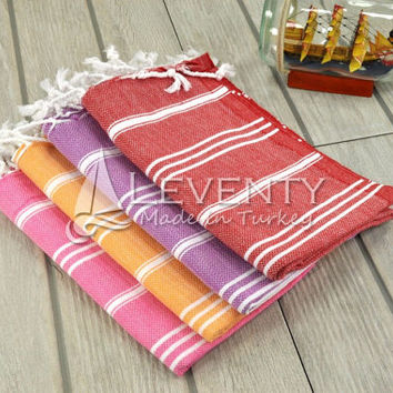 Undyed Gift Towels Set of 4 Hand Towels French Kitchen Cloth Bathroom Accessories Dish Towel French Kithcen Hand Face Towel Country Kitchen