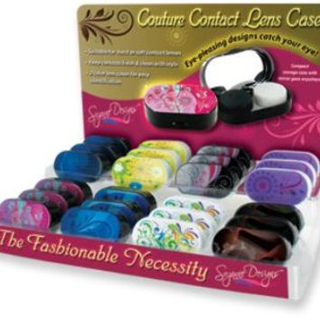 Couture Contact Lens Case - CASE OF 48