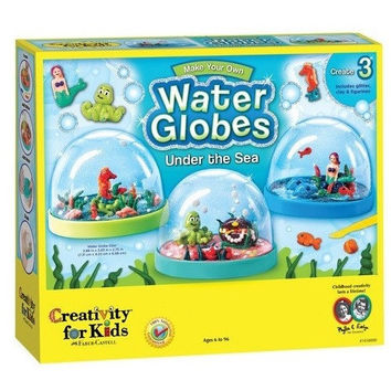 Creativity For Kids Make Your Own Water Globes - Under the Sea