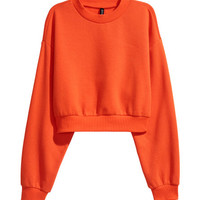 Mock Turtleneck Sweatshirt - from H&M