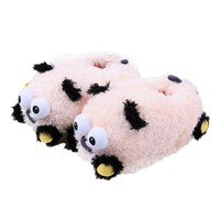 Coxeer® Soft Indoor Plush Slippers Animal Cute Home House Slippers for Women