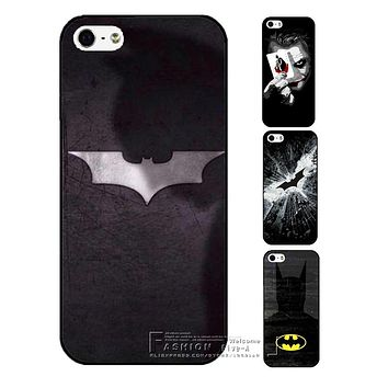 Silver Batman Phone Case For Apple iPhone 4 4S 5 5S SE 5C 6 6S 7 Plus Vintage Hero Protective Cover Free Shipping