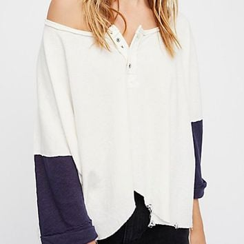 Star Henley - Ivory by Free People