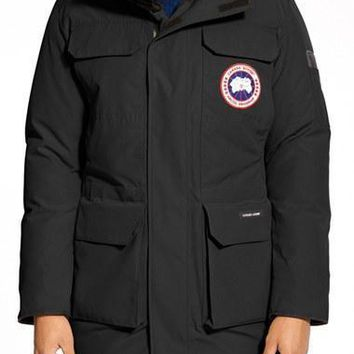 Men's Canada Goose 'citadel' Slim Fit Parka With Genuine Coyote Fur| Best Deal Online