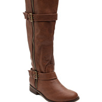 Rider 22 Heavily Zipped Riding Boot
