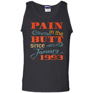 26th Bday Party  January 1993 26th Birthday Gag Gift Tank Top