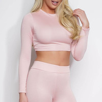 Dasia Crop Top - Pink