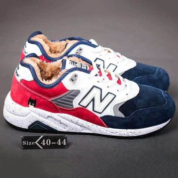 ONETOW new balance nb580 women men casual running sport shoes sneakers blue white red g a yymy xy