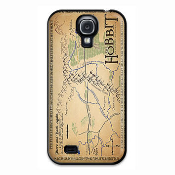 The Hobbite An Unexpected Journey Map Samsung Galaxy S4 Case