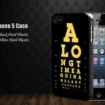 Jed Eye Chart Along Time Ago In A Galaxy,Iphone 5 case,accesories case,cell phone