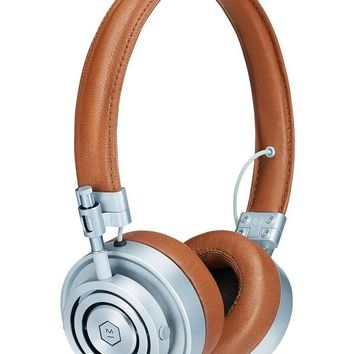 MH30 Foldable Leather Headphones