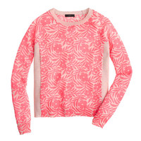 J.Crew Womens Plumeria Swing Sweater